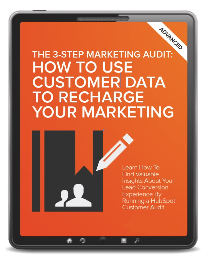 Recharge your marketing by utilizing data for a customer audit
